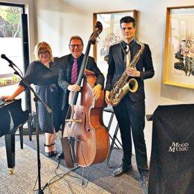 jazz trio with sax